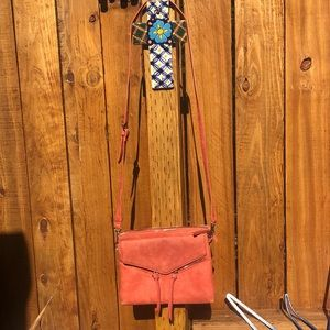Free People Coral Purse